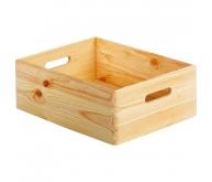 Caisse de rangement en pin